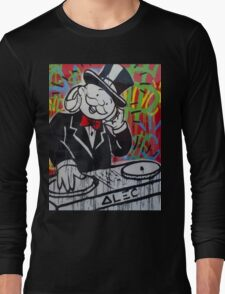 DJ Rich Uncle Pennybags Long Sleeve T-Shirt