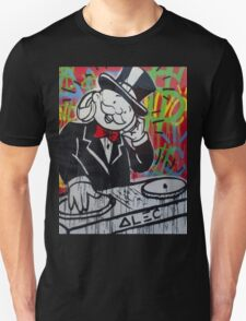 DJ Rich Uncle Pennybags Unisex T-Shirt