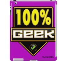 100% Geek iPad Case/Skin