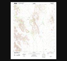 USGS TOPO Map Arizona AZ Pia Oik 20111024 TM Unisex T-Shirt