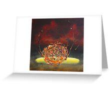 Vermilion Dream Greeting Card