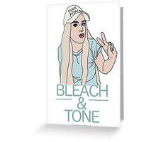 Bleach & Tone (version two) Greeting Card