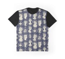 Cameos - blue Graphic T-Shirt