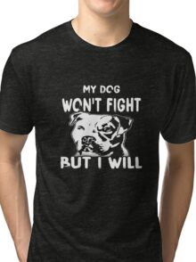 Dog Shirts Pitbull T-shirts Tri-blend T-Shirt