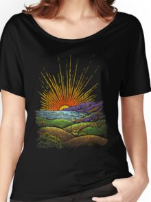 in the evening Women's Relaxed Fit T-Shirt
