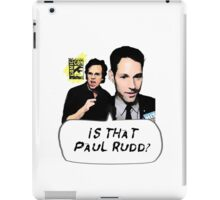 Is That Paul Rudd? Ver. 2 iPad Case/Skin