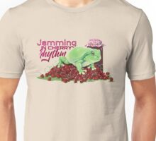 Jamming in cherry rhythm - acrylic Unisex T-Shirt