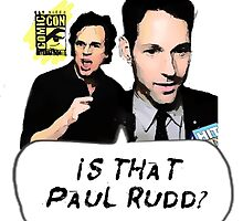 Is That Paul Rudd? Ver. 2 by YKantToriReed