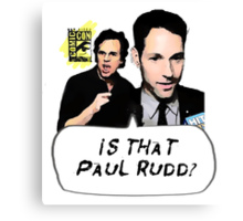 Is That Paul Rudd? Ver. 2 Canvas Print