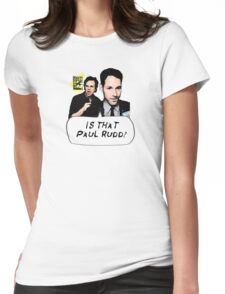 Is That Paul Rudd? Ver. 2 Womens Fitted T-Shirt