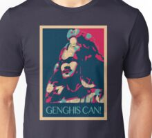 Yes, Genghis CAN! Unisex T-Shirt