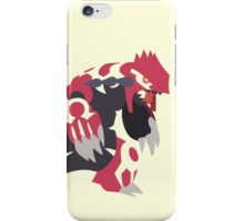 Primal Groudon iPhone Case/Skin
