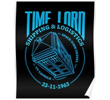 Time Lord Shipping & Logistics Poster