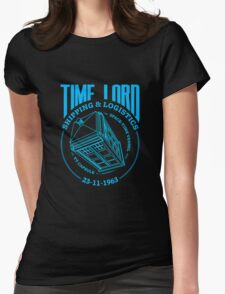 Time Lord Shipping & Logistics Womens Fitted T-Shirt