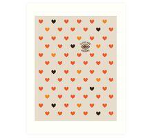 CLE Browns Love Art Print
