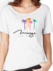 Mgm Mirage Las Vegas Casino Hotel Women's Relaxed Fit T-Shirt