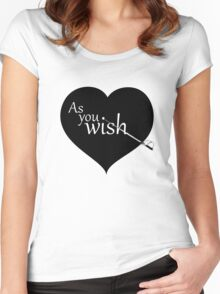 As You Wish - Princess Bride Women's Fitted Scoop T-Shirt