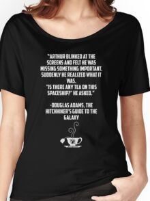 Tea and Spaceships Women's Relaxed Fit T-Shirt