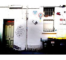 street view of melbourne Photographic Print