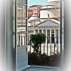 View on Piazza del Plebiscito / Naples / Italy (1) by Rachel Veser