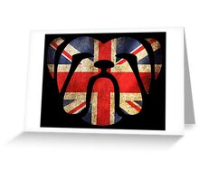 British Bulldog,  Greeting Card