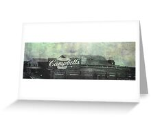 Cambell's Factory 02 Greeting Card