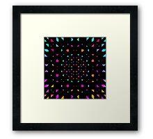 Night Diamonds Framed Print