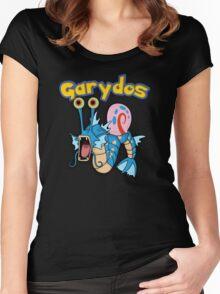 Gary the snail and Gyarados  mashup = Garydos Women's Fitted Scoop T-Shirt