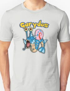 Gary the snail and Gyarados  mashup = Garydos Unisex T-Shirt