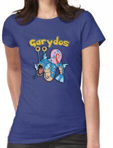 Gary the snail and Gyarados  mashup = Garydos Womens Fitted T-Shirt