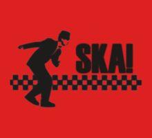 Ska Music Stencil One Piece - Short Sleeve