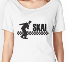 Ska Music Stencil Women's Relaxed Fit T-Shirt