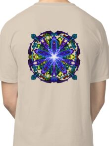 Energetic Geometry - moonlight flower bloom Classic T-Shirt
