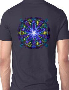 Energetic Geometry - moonlight flower bloom Unisex T-Shirt