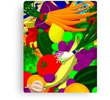 in Bobbie's bag Canvas Print
