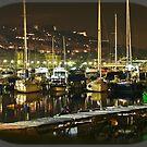 Mergellina by night / Naples / Italy by Rachel Veser