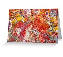 Painted Desert Wood 1 Greeting Card