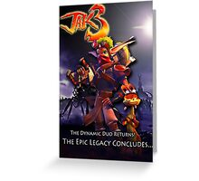 Jak 3 Dark Maker  Greeting Card