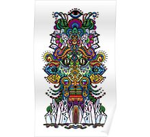 psychedelic illustration Poster