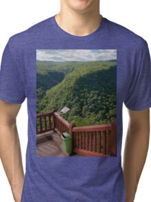 Pine Creek Gorge Overlook Tri-blend T-Shirt