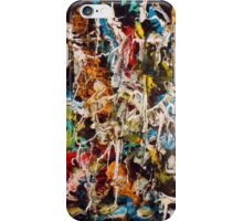 Abstract with texture iPhone Case/Skin