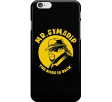 THE BOSS IS BACK iPhone Case/Skin