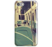 Empty subway iPhone Case/Skin