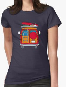 funny VW Womens Fitted T-Shirt