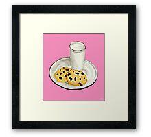 Milk & Cookies Framed Print