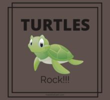 Turtles Rock! One Piece - Short Sleeve