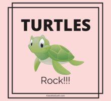 Turtles Rock! Kids Tee