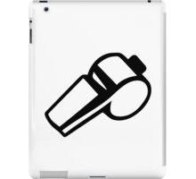 Coach Referee whistle iPad Case/Skin