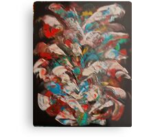 Multi-colored abstract Metal Print