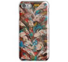 Multi-colored abstract iPhone Case/Skin
